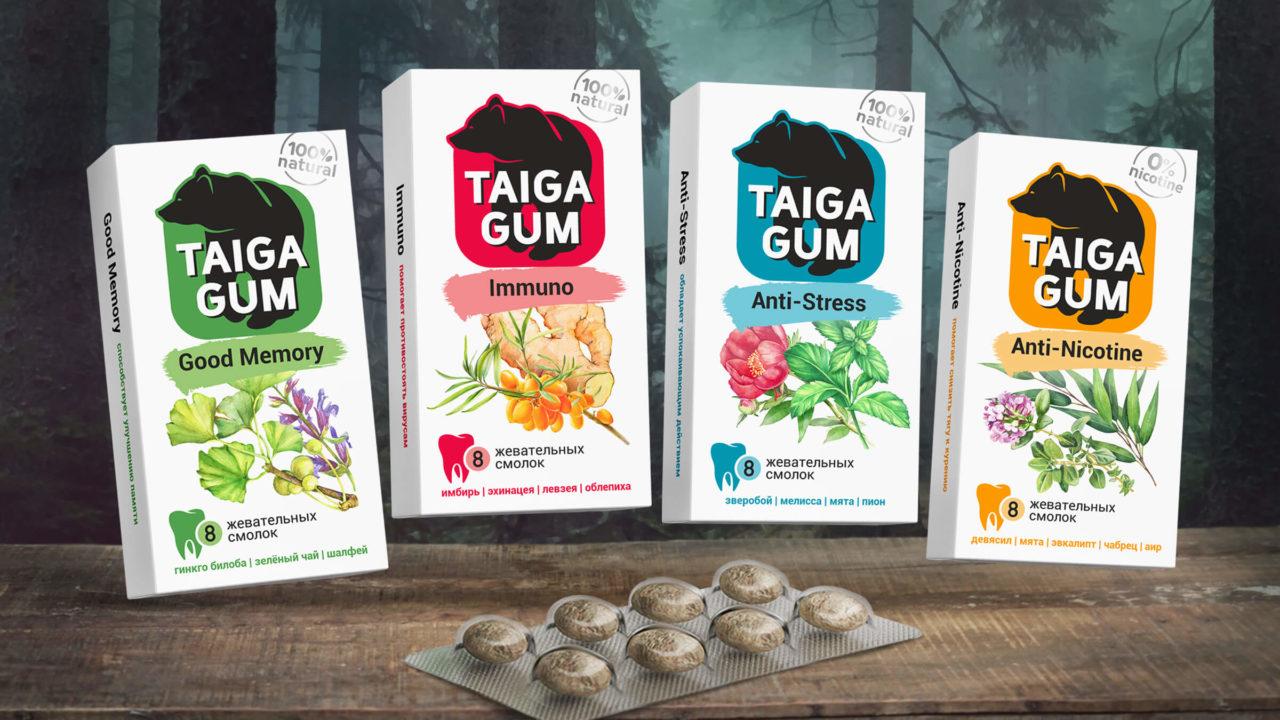 Taiga Gum poster